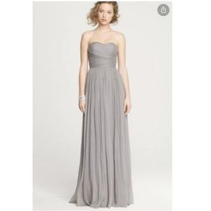 Silk floor length cocktail dress, worn once